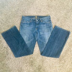 7 For All Mankind Jeans - 7 for All Mankind Medium Wash Jeans GUC SZ 29
